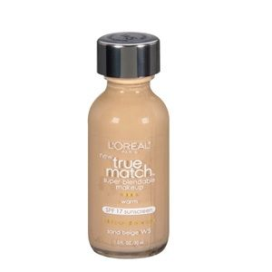 L'Oreal Paris True Match foundation/ sand beige W5